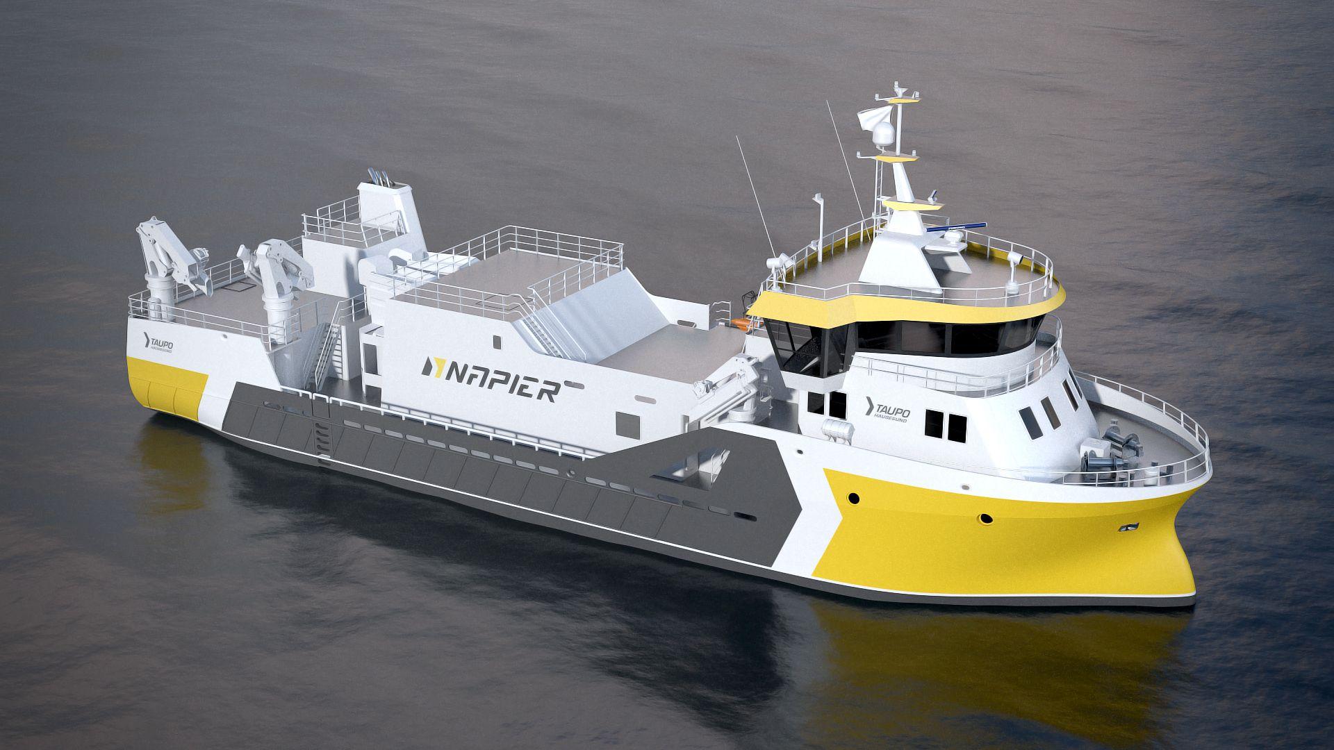 Napier AS - Ny kontrakt av et prosessfartøy med design HeimliFMV