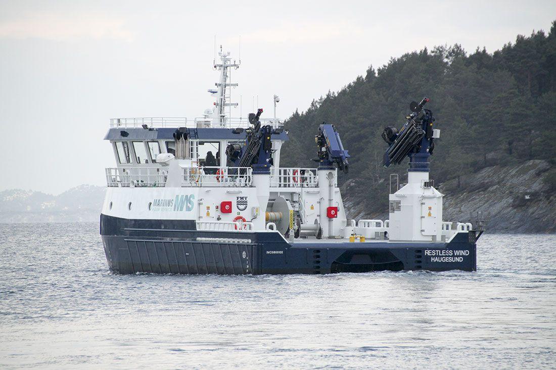 Marinus Aqua Service AS - Arbeidsbåt bestilt av ny design type, HFMV W20 Sørfonn L
